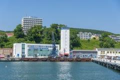 Porto in Sassnitz immagini stock libere da diritti