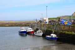 Porto, Seahouses, Inglaterra Imagens de Stock Royalty Free