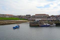 Porto, Seahouses, Inglaterra Imagem de Stock