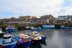 Porto, Seahouses, Inglaterra Fotos de Stock
