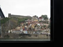 Porto, a segunda cidade principal de Portugal imagens de stock royalty free
