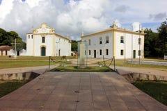 Porto Seguro - historisk brasiliansk tropisk stad Royaltyfri Fotografi