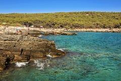 Porto-selvaggio - Puglia, Italien Lizenzfreies Stockfoto