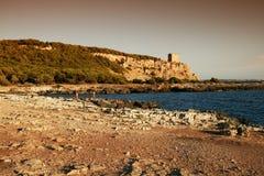 Porto selvaggio sunset Royalty Free Stock Photos