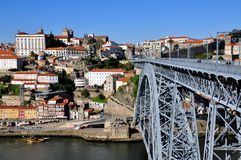 Porto skyline Stock Image