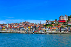 Porto skyline. Cityscape Portugal, Europe. Royalty Free Stock Image