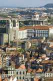 Porto skyline from Clerigos tower, Portugal Stock Image