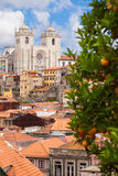Porto skyline, Portugal Royalty Free Stock Images