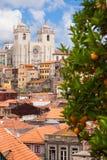 Porto skyline, Portugal Royalty Free Stock Images