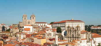 Porto skyline Royalty Free Stock Photo