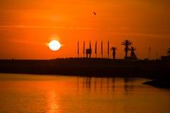 Porto-Sonnenuntergang Stockfoto