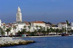 Porto spaccato Fotografie Stock