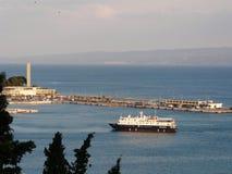 Porto spaccato Fotografie Stock Libere da Diritti