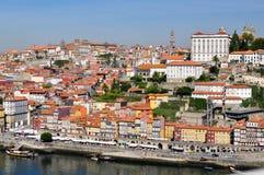 Porto stad - panorama Royaltyfri Fotografi