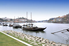 Porto stad in Portugal Stock Afbeeldingen