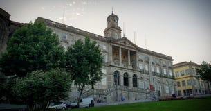Porto Stadhuis royalty-vrije stock afbeelding