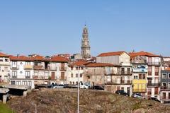 Porto Stadshorizon in Portugal Stock Foto's