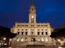 Porto stadshus Arkivfoton