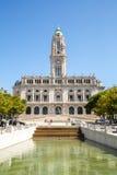 Porto stadshus Arkivfoto