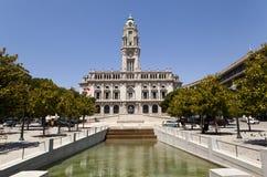 Porto stadshus Royaltyfri Bild