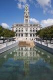 Porto stadshus i Portugal Arkivbilder