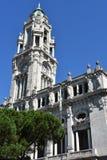 Porto stadshus i Portugal Fotografering för Bildbyråer
