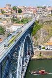 Porto-Stadtbild Portugal Lizenzfreies Stockfoto