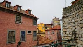 Porto-Straßen, Portugal Lizenzfreie Stockbilder