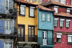 Porto Straat, Portugal Stock Afbeelding