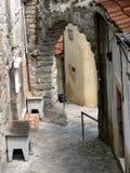 Porto Street. In Lisbon Portugal Stock Photos
