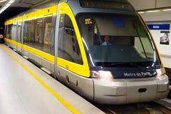 Porto subway, Portugal Stock Images