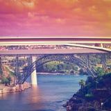 Porto at Sunset Stock Photography