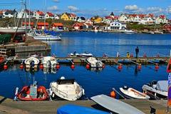 Porto in Svezia Fotografia Stock Libera da Diritti