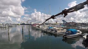 Porto Svezia di Varberg archivi video