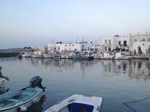 Porto típico do grego Imagens de Stock Royalty Free