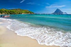 Porto Taverna strand, Sardinige, Italië, Europa stock foto