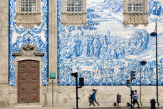 Porto tiles Royalty Free Stock Photography