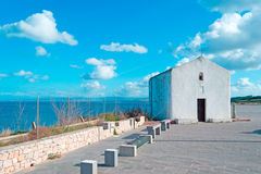 Porto Torres church Royalty Free Stock Photo