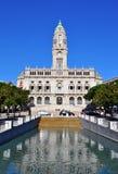 Porto town hall Royalty Free Stock Photo