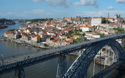 Porto Town 3. Porto, one of the most important cities of Portugal, on the banks of the river Douro.Famous for it's Port wine stock photography
