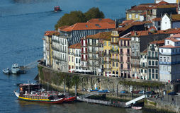 Porto Town. Porto, one of the most important cities of Portugal, on the banks of the river Douro.Famous for it's Port wine Stock Photo