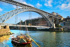 Porto traditional scene Royalty Free Stock Photos