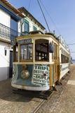 Street tram in Porto city Royalty Free Stock Photo