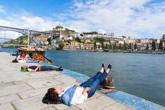 Porto travel background Royalty Free Stock Photography