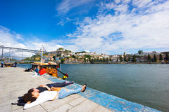 Porto travel background Stock Photo