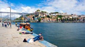 Porto travel background Royalty Free Stock Photo