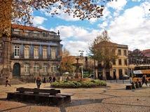 Porto Trindade square Stock Images