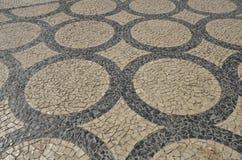 Porto trottoar Arkivfoto