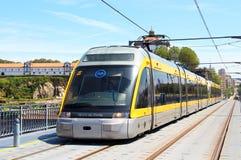 Porto tunnelbana Arkivfoton