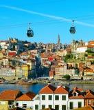 Porto turist- dragningar, Portugal Royaltyfria Bilder